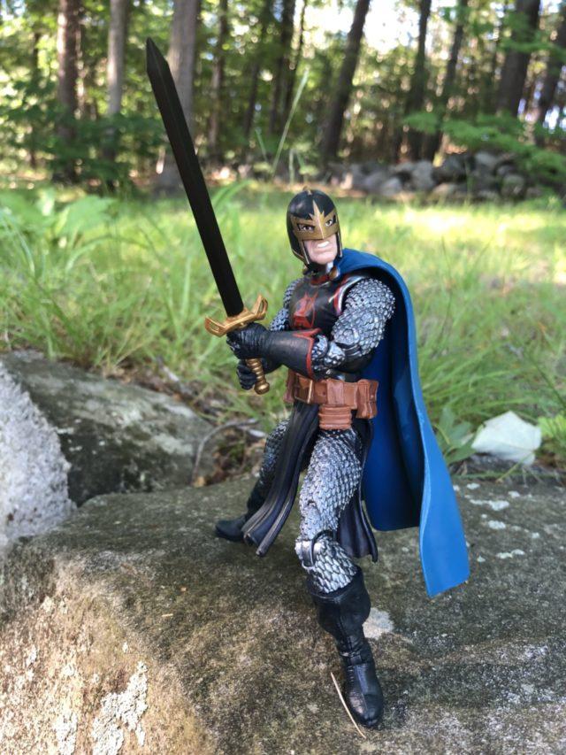 Hasbro Black Knight Avengers Legends Figure with Ebony Blade Sword