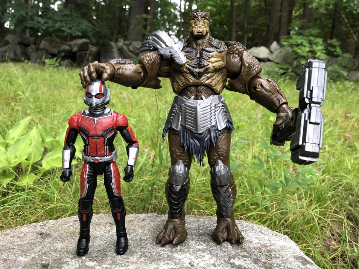 Marvel Legends CULL OBSIDIAN SERIES ANT MAN NO BAF