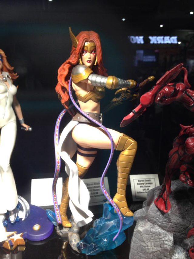 2018 SDCC Marvel Gallery Angela Statue