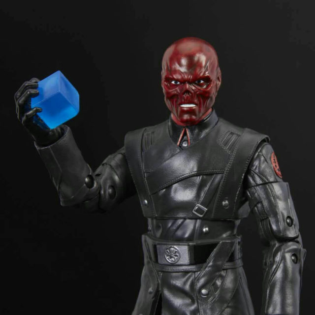 2018 SDCC Red Skull Marvel Legends Figures with Tesseract