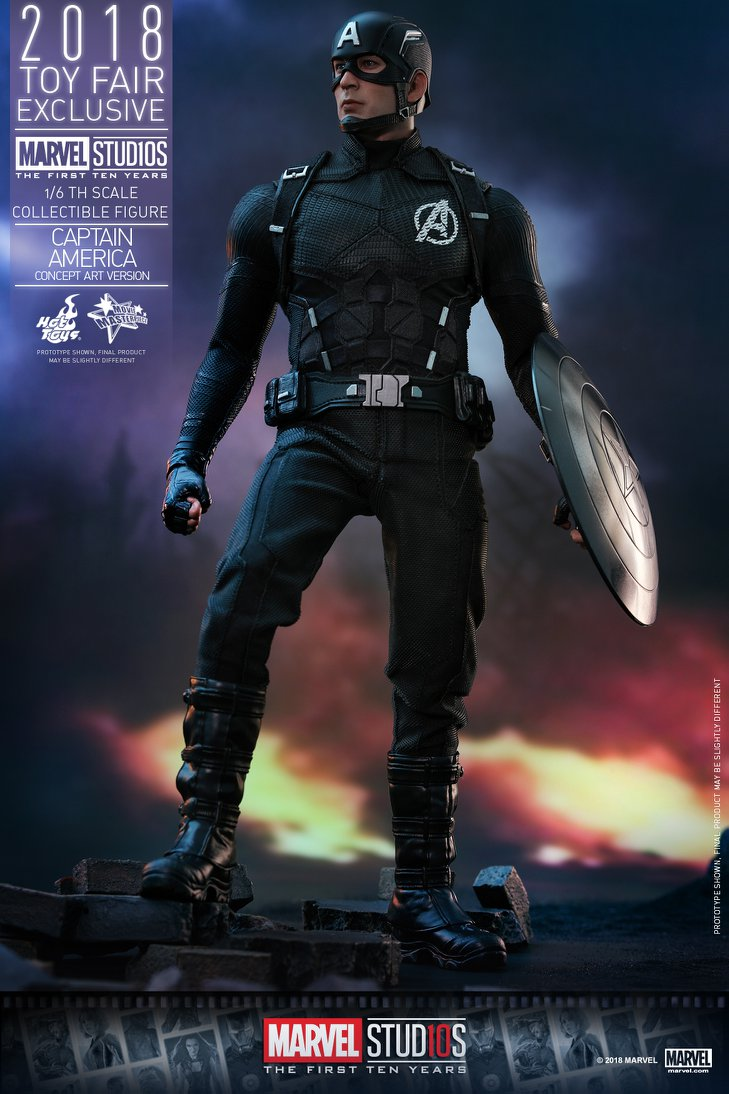 exclusive hot toys concept art captain america figure pre order marvel toy news. Black Bedroom Furniture Sets. Home Design Ideas