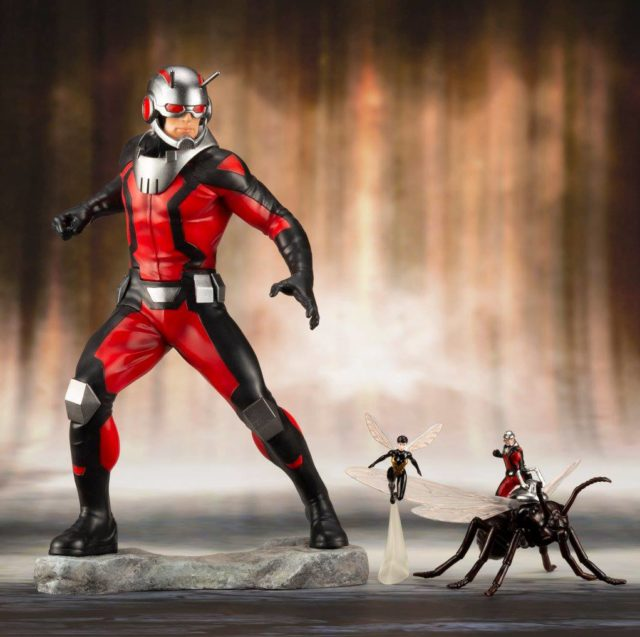 ARTFX+ Ant-Man and the Wasp Statues Kotobukiya