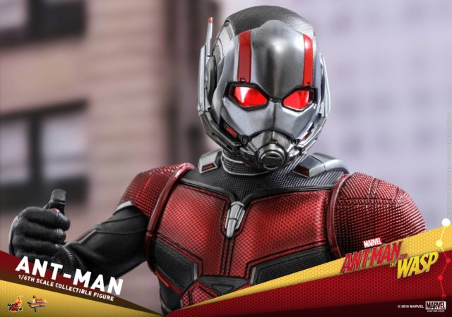 Close-Up of Ant-Man Hot Toys 2018 Figure