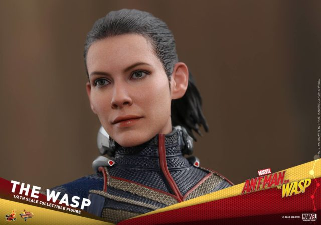 Close-Up of Hot Toys Evangeline Lilly Wasp Head