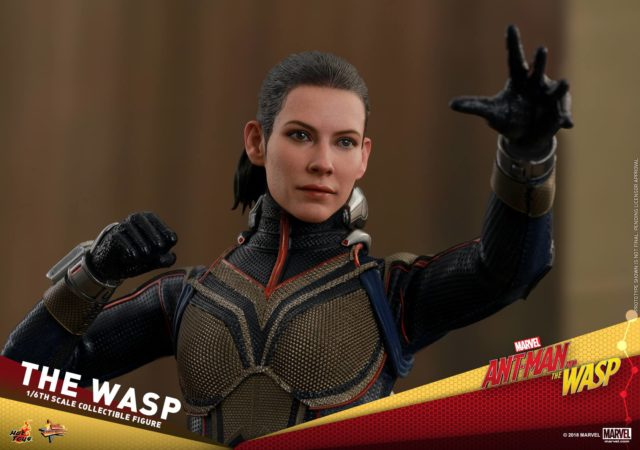 Evangeline Lilly Hot Toys Wasp Portrait Head Sculpt