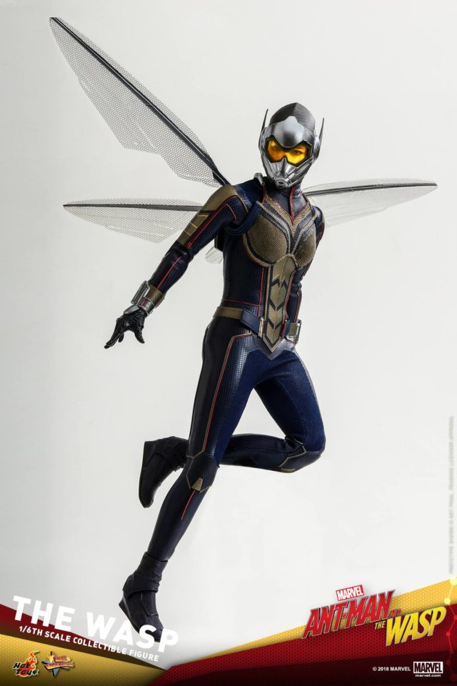 Hot Toys Ant-Man and the Wasp Wasp Figure Wings