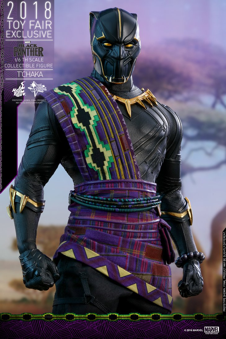 Toy Fair Exclusive Hot Toys T Chaka Black Panther Up For Order Marvel Toy News