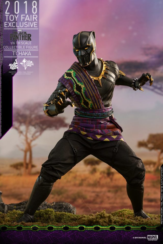 Hot Toys King T'Chaka Black Panther Exclusive Figure