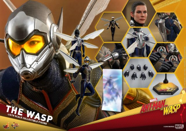 Hot Toys Wasp Figure and Accessories 12 Inch