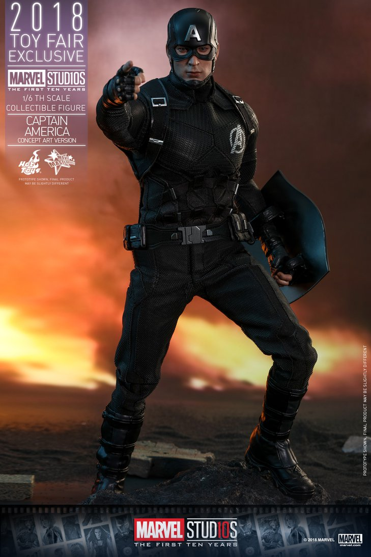 Not Toys For 2018 From Moive : Exclusive hot toys concept art captain america figure pre