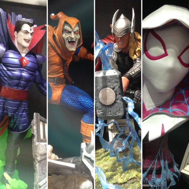 SDCC 2018 Diamond Select Toys Marvel Statues and Busts