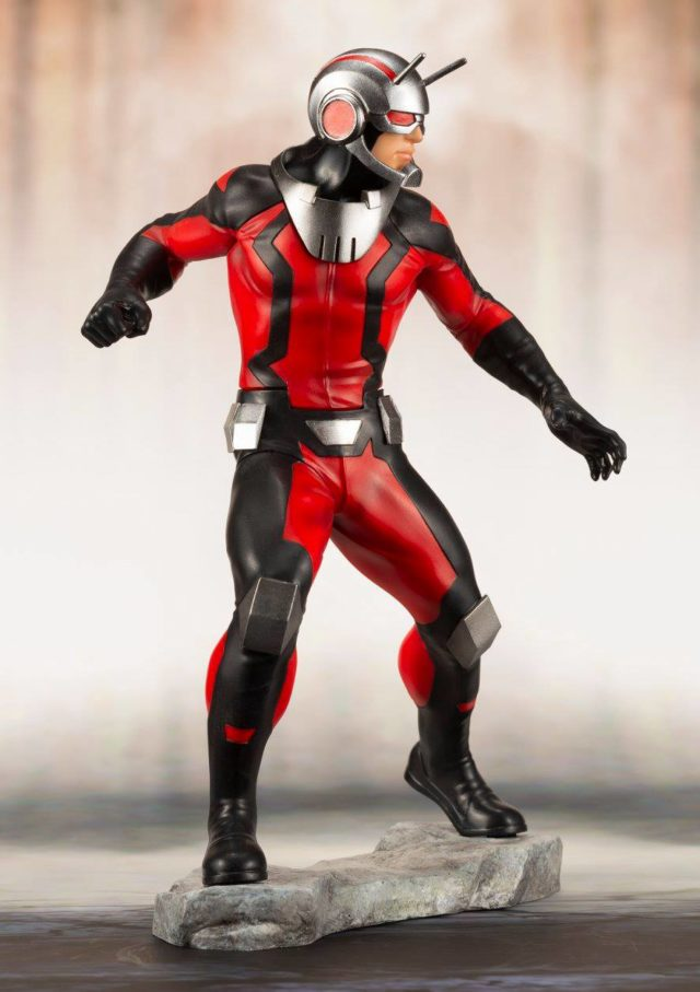 Side View of Ant-Man Kotobukiya ARTFX+ Statue