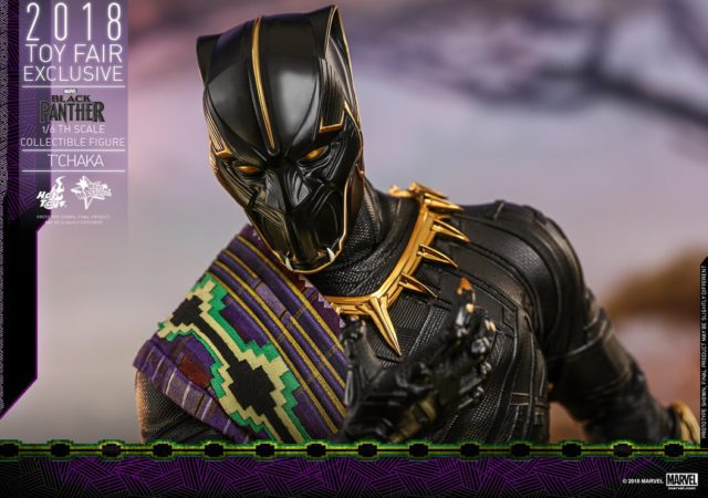 T'Chaka Hot Toys Exclusive Black Panther MMS Figure
