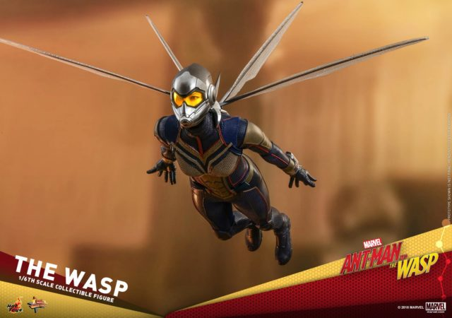 Wasp Hot Toys Movie Masterpiece Series Figure Flying