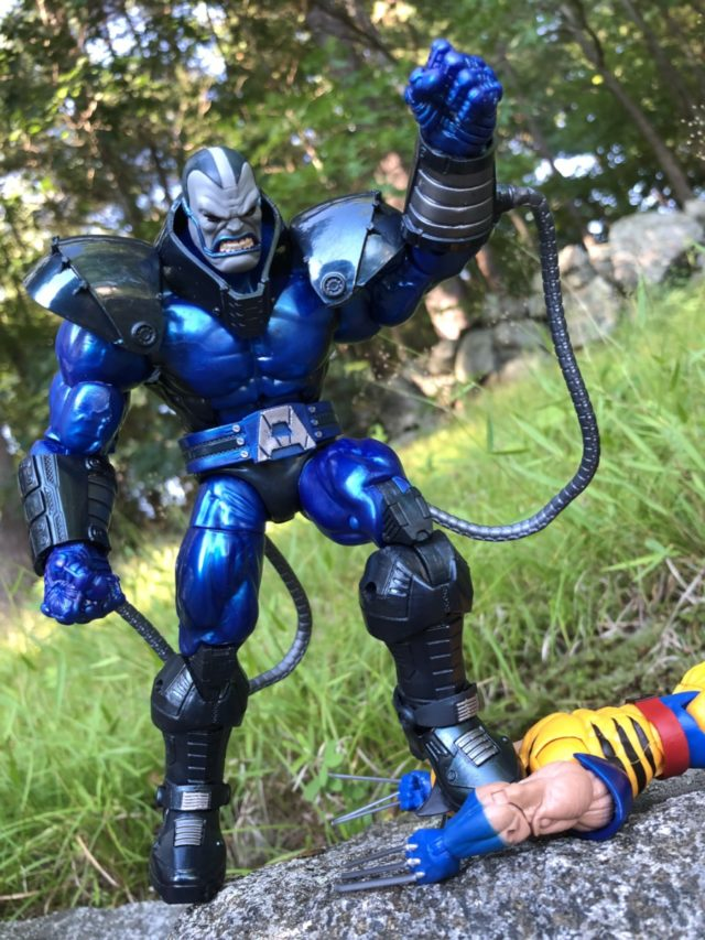 Apocalypse Marvel Legends Build-A-Figure Review Hasbro