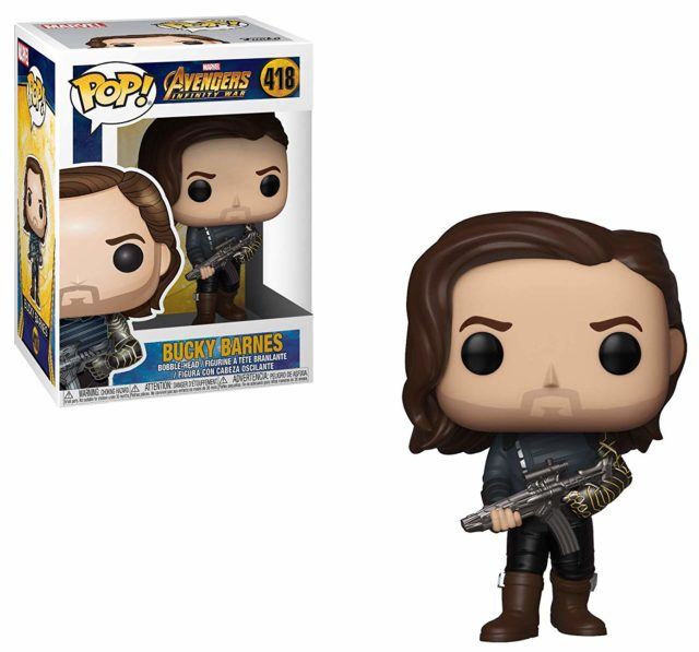 Funko Infinity War POP Winter Soldier Bucky Figure
