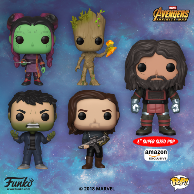 Funko POP Vinyls Avengers Infinity War Wave 2 Figures