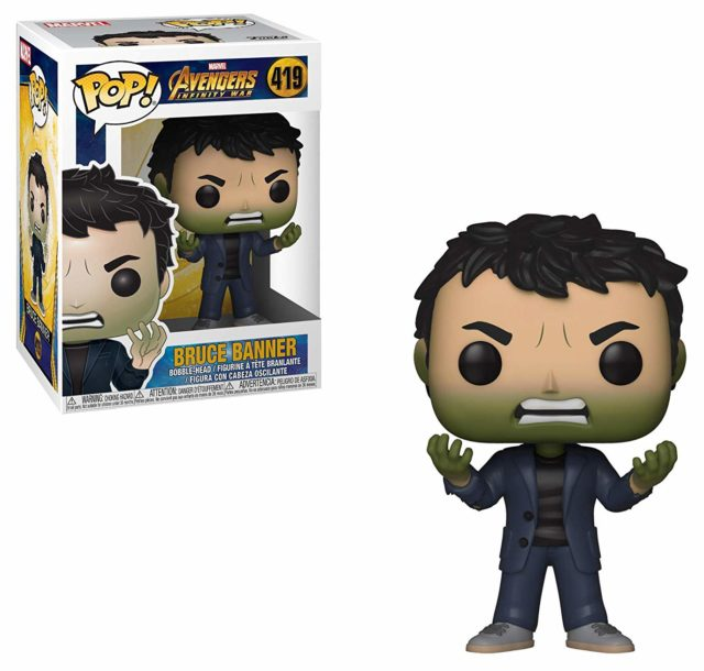 Funko POP Vinyls Bruce Banner with Hulk Head Infinity War