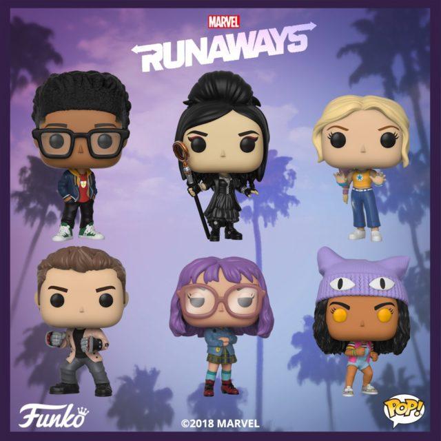 Funko Pop Runaways Ps4 Spider Man Amp Comic Rocket Raccoon