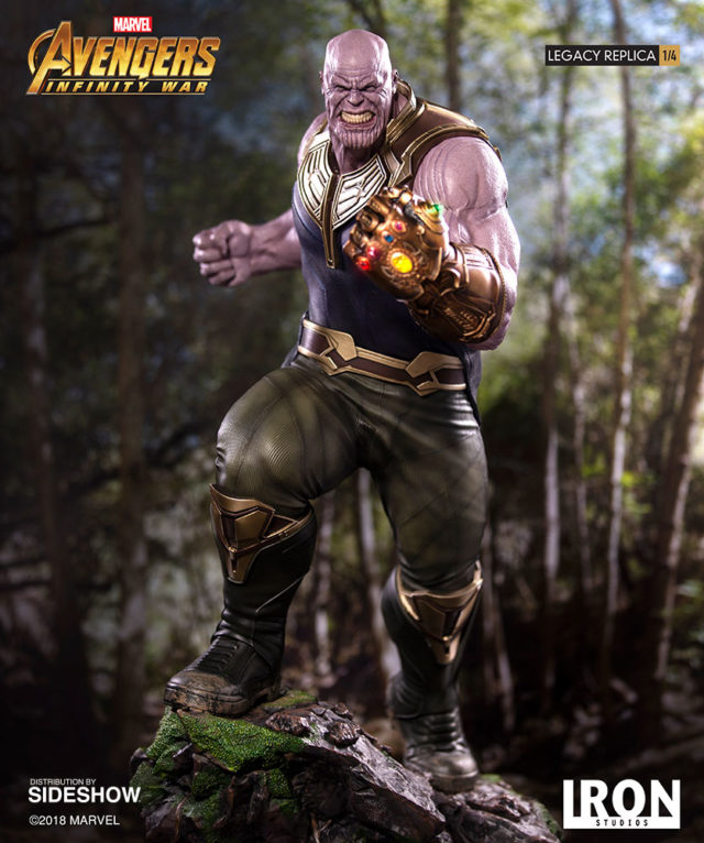 Legacy Replicas Thanos Iron Studios Statue