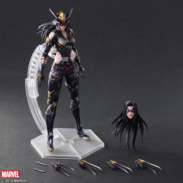 Marvel Play Arts Kai X-23 Figure and Accessories