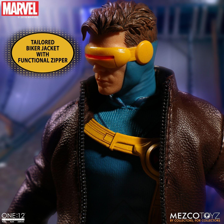X Men Cyclops Visor Toy Mezco ONE:12 Collectiv...