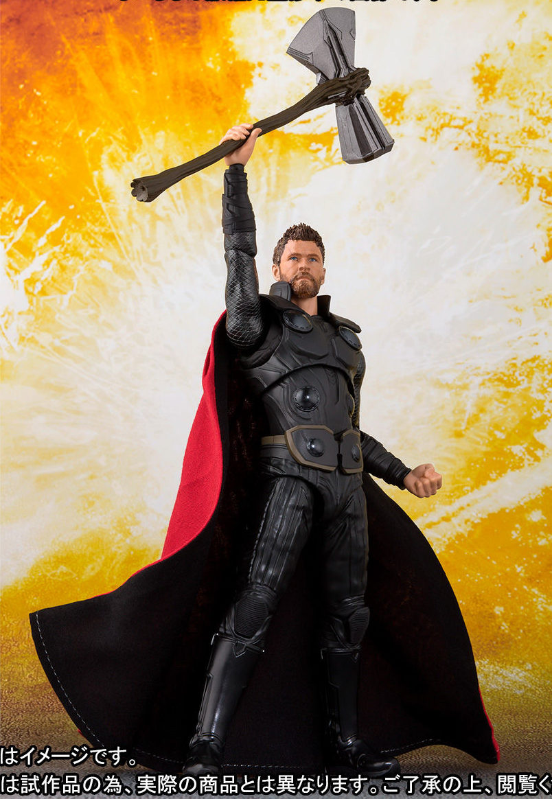 Sh Figuarts Wasp Amp Infinity War Thor Figures Us Release