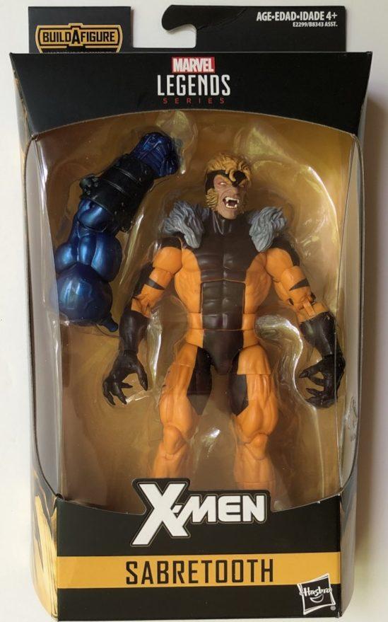 X-Men Legends Sabertooth Figure in Box