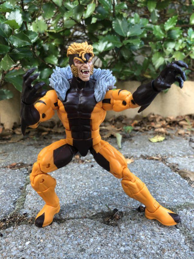 Hasbro Marvel Legends X-Men Apocalypse Series Sabertooth Action Figure