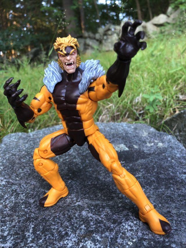 X-Men Legends Sabertooth Figure Review