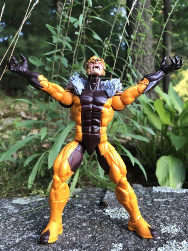 Apocalypse Marvel Legends Sabertooth Action Figure