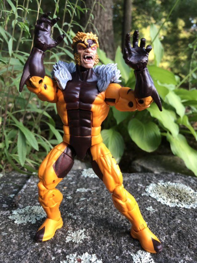 X-Men Marvel Legends Apocalypse Series Sabertooth Review