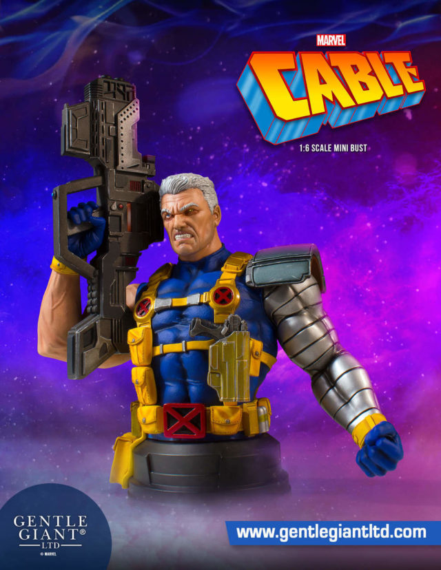 Cable Mini Bust Gentle Giant Ltd 2019