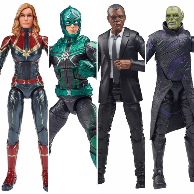 6-inch Marvel Legends Captain Marvel Nick Fury Action Figure