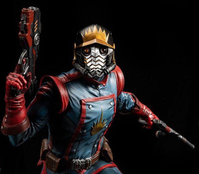 Close-Up of XM Star-Lord Statue