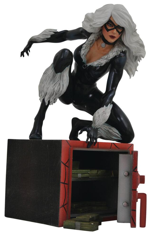 Diamond Select Toys Marvel Gallery Black Cat Figure PVC Statue