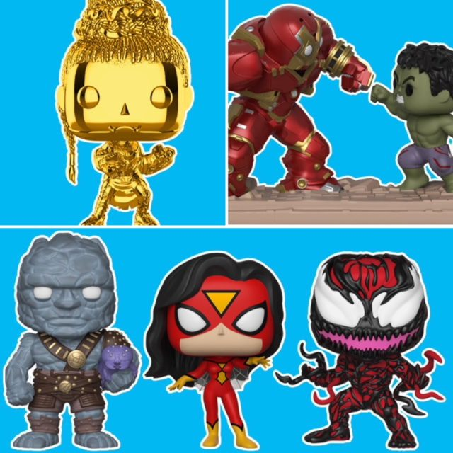 Funko NYCC 2018 Exclusive POP Vinyls Figures