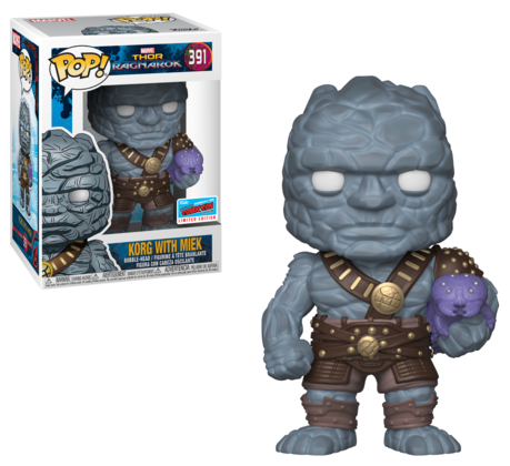 Funko POP Korg and Miek NYCC 2018 Exclusive Vinyls Figure