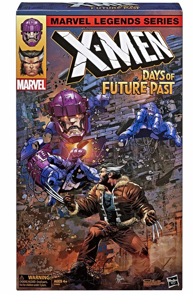 Marvel Legends Days of Future Past Sentinel Wolverine Box Front