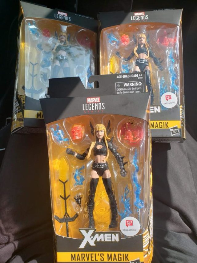 Marvel Legends Magik Walgreens Exclusive Released