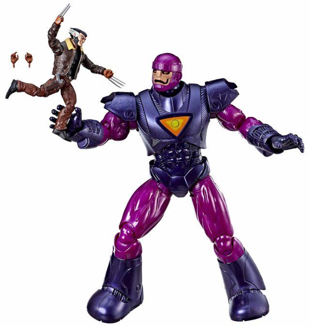 Marvel Legends Sentinel and Wolverine Exclusive Set