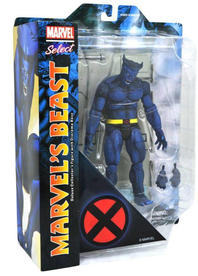 Marvel Select Beast Figure Packaged