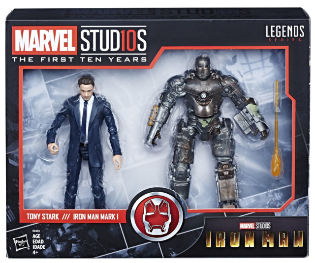 Marvel Studios Legends Tony Stark Iron Man Mark I Set