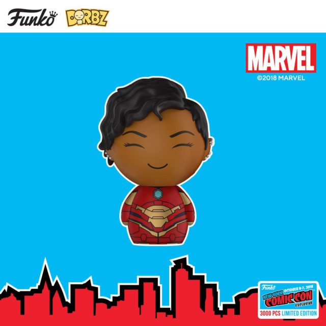 NYCC 2018 Exclusive Funko Dorbz Ironheart Figure Riri Williams
