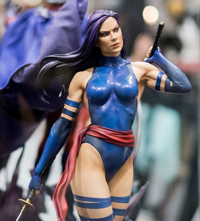Original SDCC 2018 Sideshow Collectibles Psylocke Statue Prototype