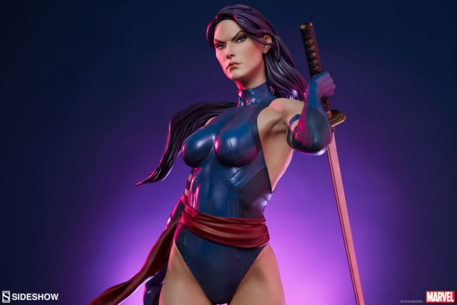 Psylocke Sideshow Collectibles Statue Premium Format Figure 2018
