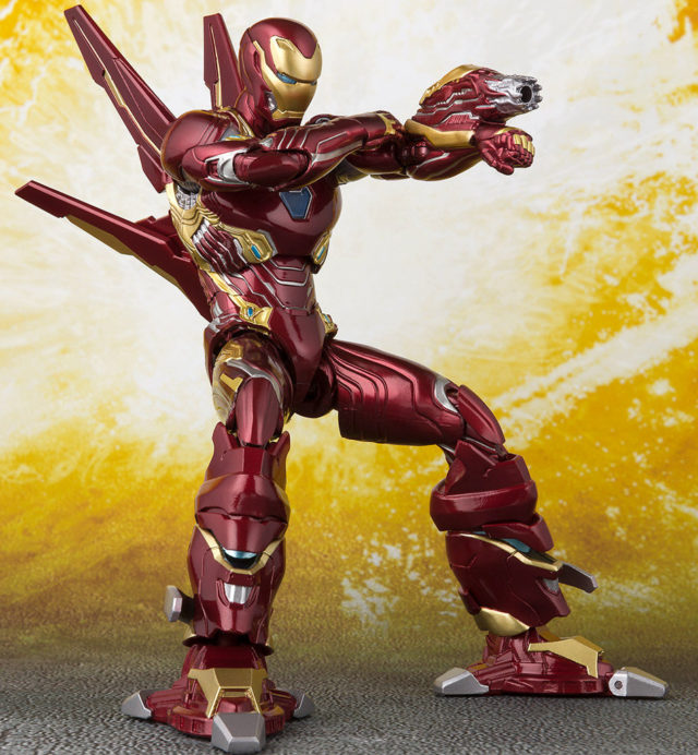SH Figuarts Iron Man Mark 50 Nano Weapons Set