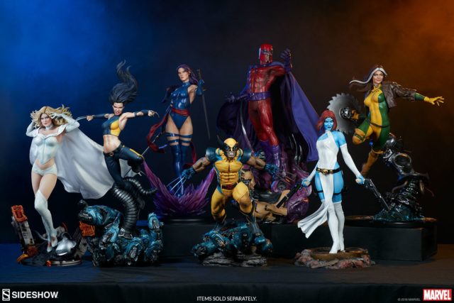 Sideshow Collectibles X-Men Statues 2018 Lineup