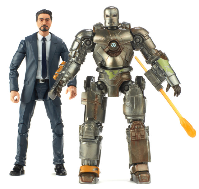 Tony Stark and Iron Man Mark I Marvel Legends 10 Years of Marvel Studios Pack