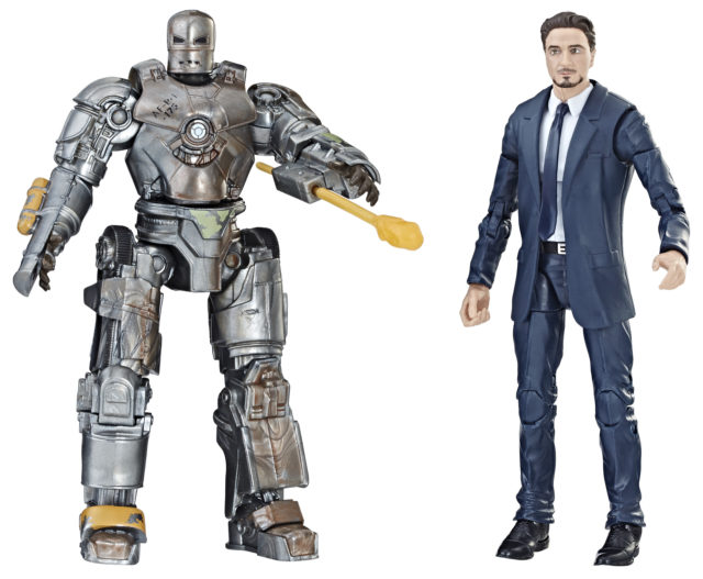 Walmart Exclusive Marvel Legends Iron Man Mark I and Tony Stark Two-Pack
